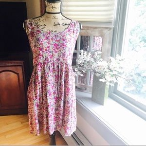 Abercrombie Tie Back Skater Dress